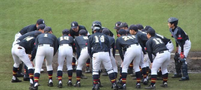 2015年3月 千葉県春季大会 あっけなく初戦敗退