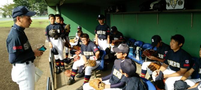 2015年9月 秋季大会東日本選抜予選 完敗