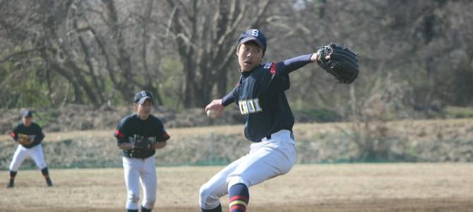 2/27 最終実戦練習(VS 鎌ヶ谷シニア)