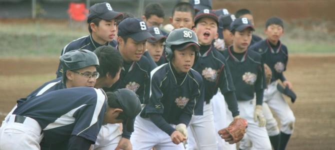 3/13 練習試合 VS 京葉ボーイズ
