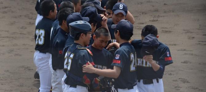 5/3 ヤングリーグ関東大会 夢中で叶えた勝利