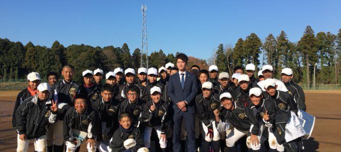 12/10 鈴木康平さんが顔をだしてくれました