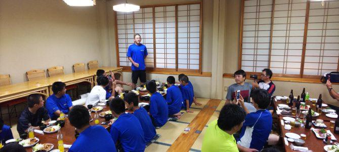 9/1 小山合宿(壮行会)