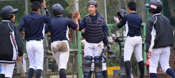 10/14 成長実感 強豪に善戦